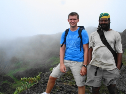 Bjorn in the Caribbean