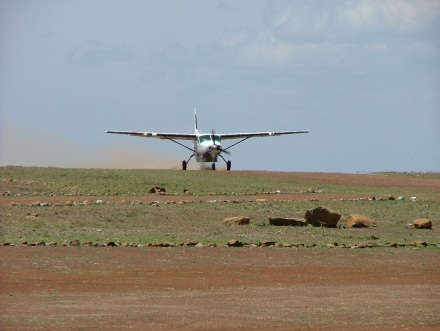Arriving in the Masai Mara