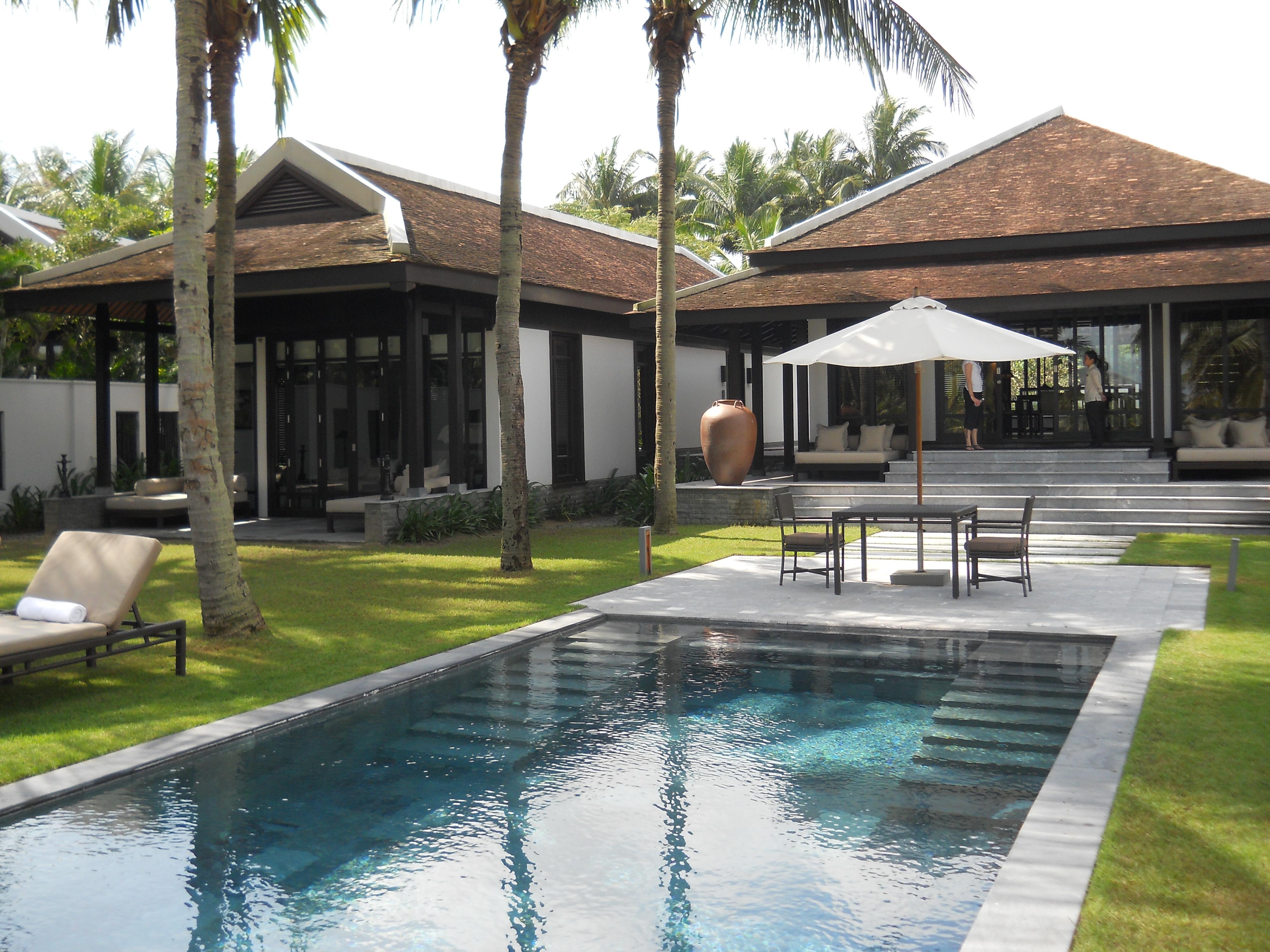 The luxurious villas at The Nam Hai